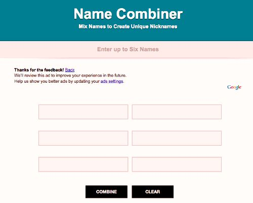 name combiner