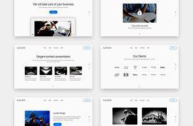 Sleader Web Slider PSD Templates