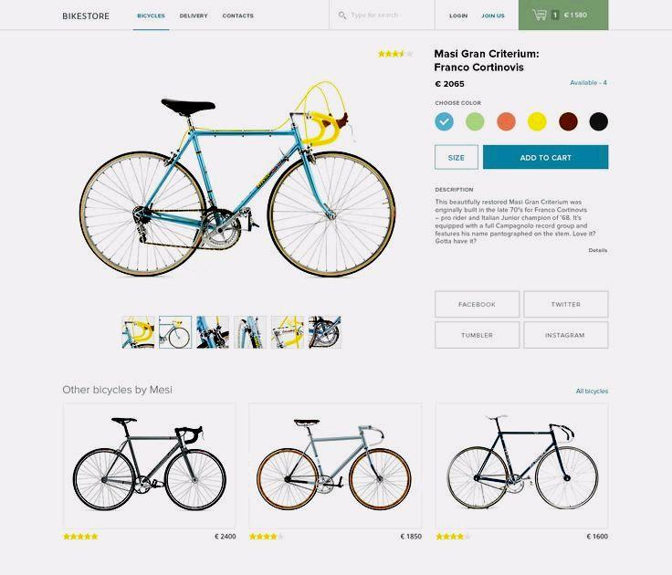 Bikestore by Vitaly Medvedev