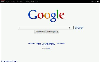 Search Engine Screenshot