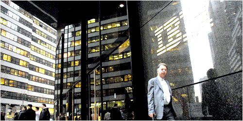 IBM - Photo by Boomberg News