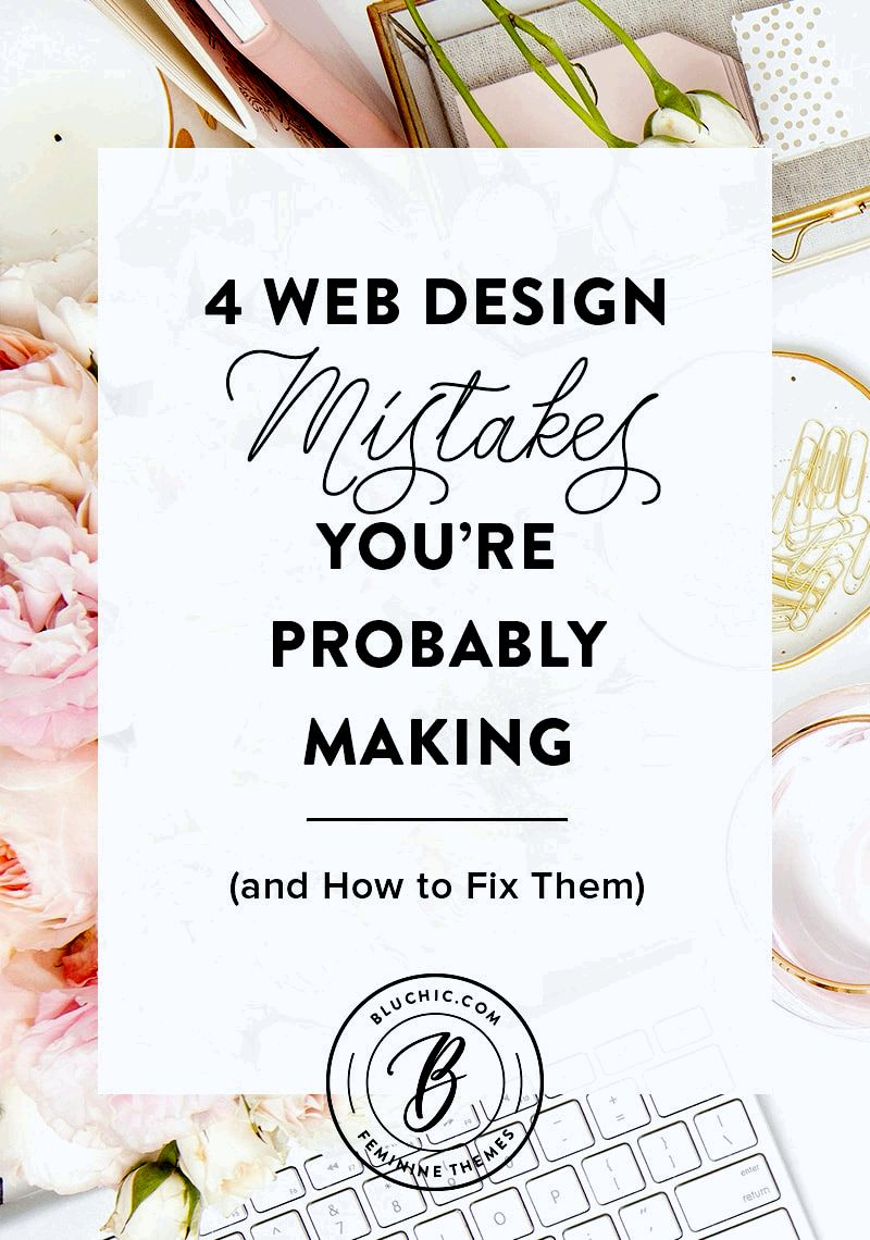 Four critical website design mistakes to prevent in your homepage once they