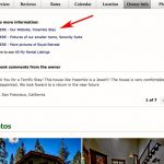 Holiday rental website makeover session 1