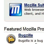 White space on Mozilla