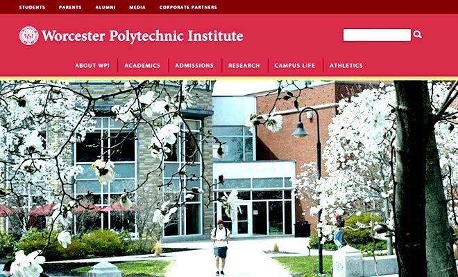 wpi worcester polytechnic institute webiste