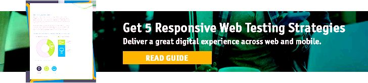 Responsive Web Testing Strategy