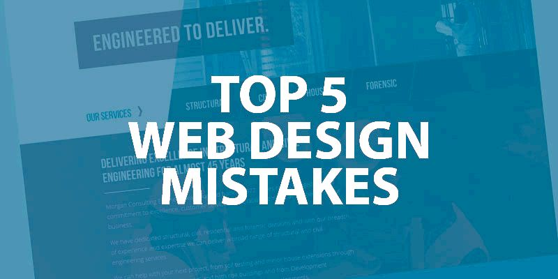 Staying away from common web site design mistakes trending website design
