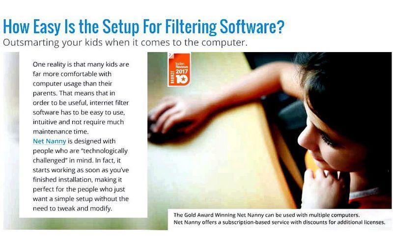 The very best internet filter software software developer is