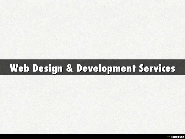Web site design & development services - sciencesoft and all